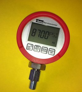 PARKER ServiceJunior Digital Pressure Gauge (8700 PSI)